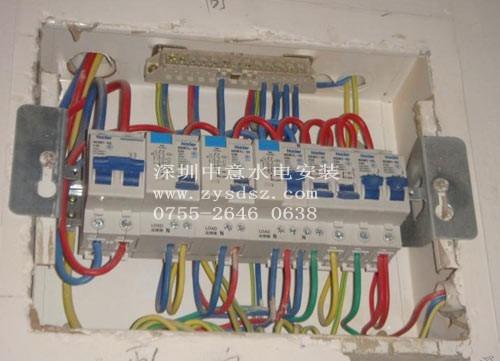 4,电箱跳闸,电箱改装,电路维修,水管更换,水管改装,厨房卫生间改造