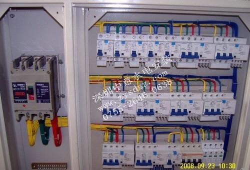 设备电箱矢量图